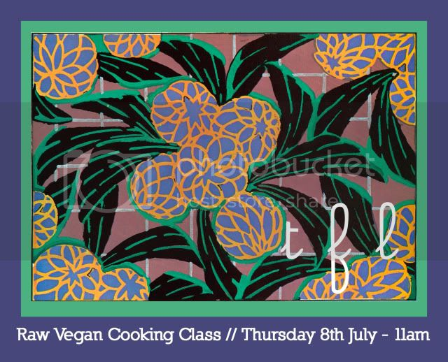 RAW COOK CLASS JULY