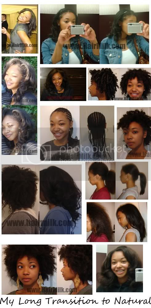 Long Transition to Natural Hairstyles